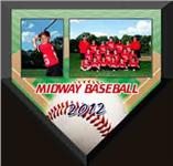 Homeplate Memory Mate Plaque